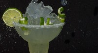 Voodoo Tiki Classic Margarita with Confettii Limes Garnish