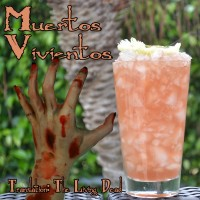 Voodoo Tiki Anejo Tequila Muertos Vivientos, The Living Dead