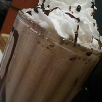 Voodoo Tiki Tequila Reposado chocolate shake