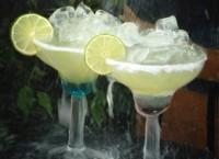 Voodoo Tiki Tequila margaritas