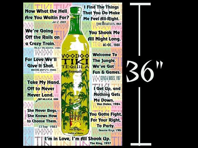 Voodoo Tiki Tequila Magic Words Extra Anejo